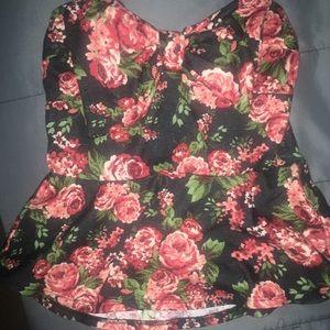 Flower print shirt 🌺